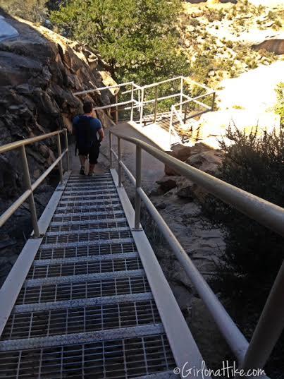 Natural Bridges National Monument, Utah. Loop Trail Natural Bridges