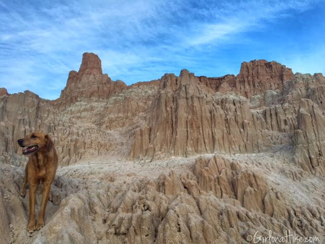 Hiking and Camping at Cathedral Gorge State Park, Cathedral Caves