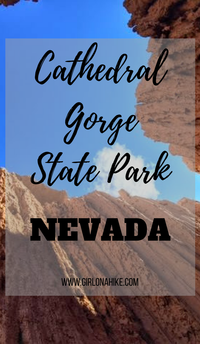 Hiking and Camping at Cathedral Gorge State Park, Nevada