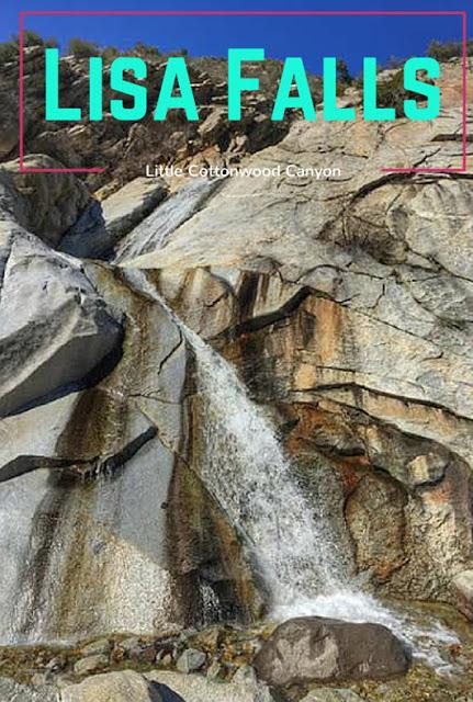 Hiking to Lisa Falls, Big Cottonwood Canyon, Utah