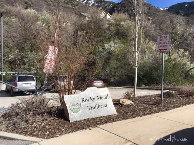Rocky Mouth Falls, Utah, Kid friendly trails in Utah