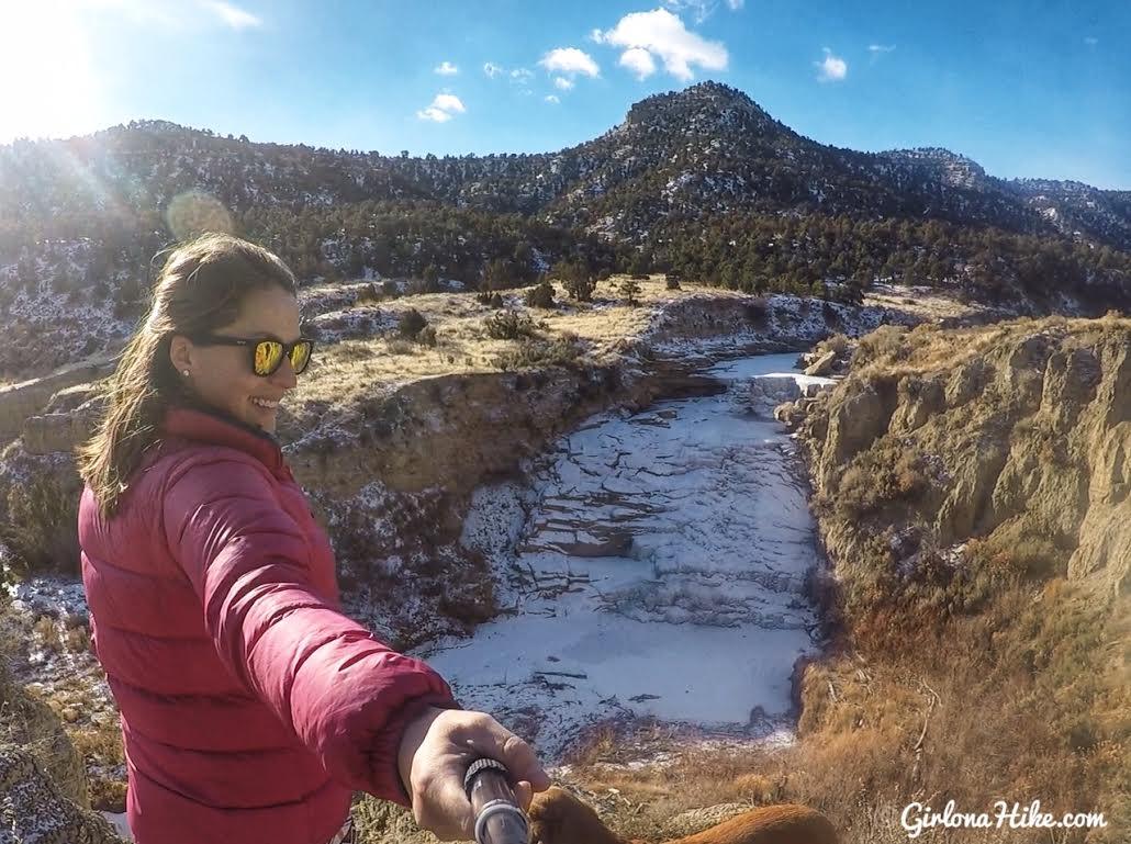 Hiking to Gordon Creek Waterfalls, Utah, Hiking in Utah with Dogs