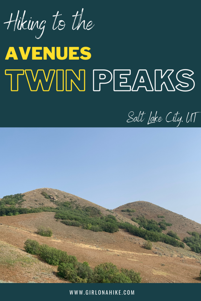 Hiking to The Avenue's Twin Peaks