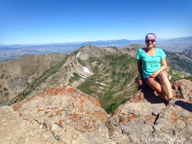 Hiking to Naomi Peak, Logan Canyon, Utah