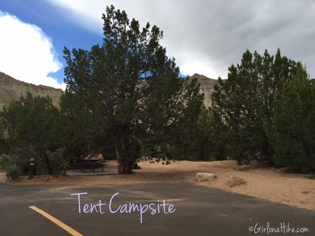 Camping at Kodachrome Basin State Park