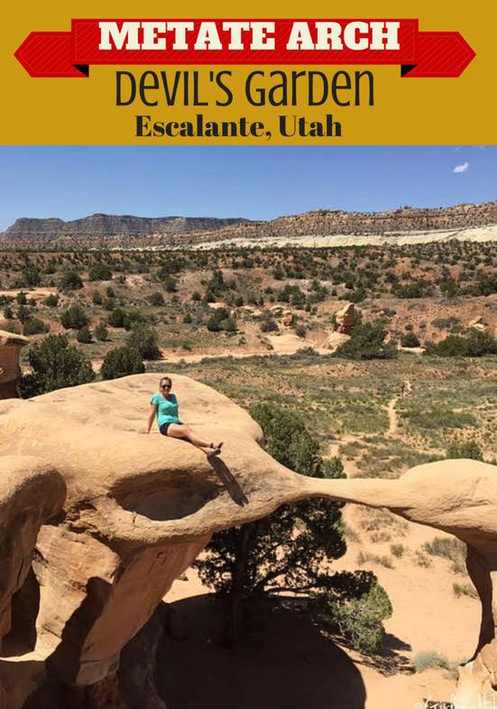 Metate Arch, Devil's Garden, Escalante, Utah