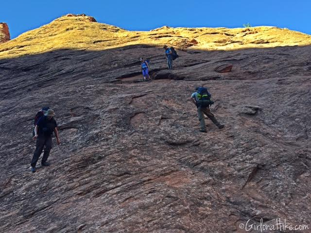 Backpacking Coyote Gulch, Utah
