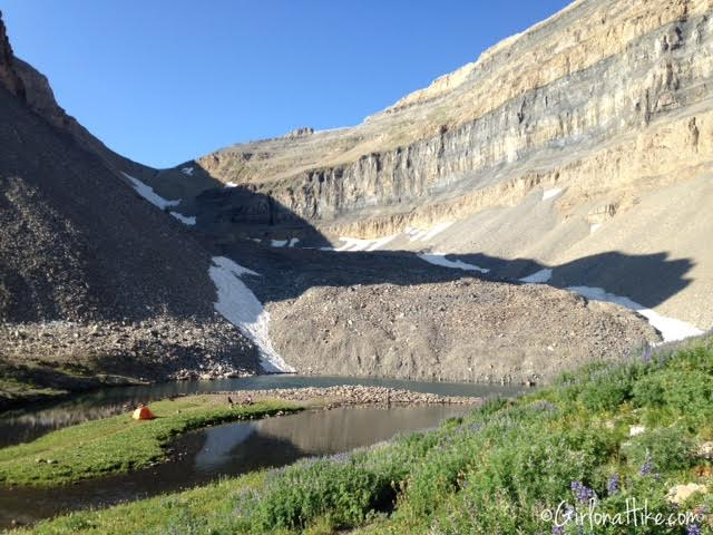 Hiking Mt. Timpanogos via Aspen Grove, Emerald Lake
