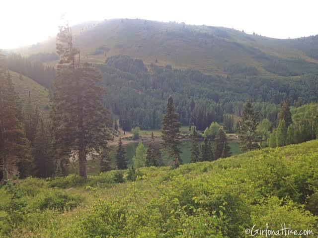 Hiking to Shadow Lake via Guardsmans Pass