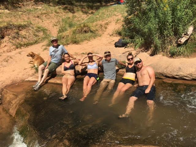 Hiking to the North Fork of Mill Creek, Moab, UT, Hiking in Utah with Dogs
