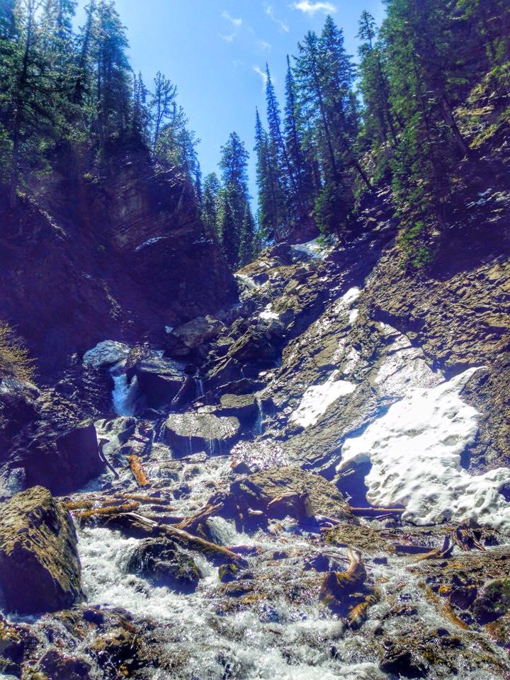 Hiking to Donut Falls, Big Cottonwood Canyon, Hiking in Utah with Kids, Hiking Utah