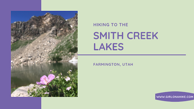 Hiking to Smith Creek Lakes, Wasatch Mountains