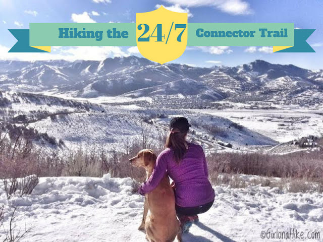 Hiking the 24/7 Connector Trail, Jeremy Ranch, Utah, Hiking in Utah with Dogs