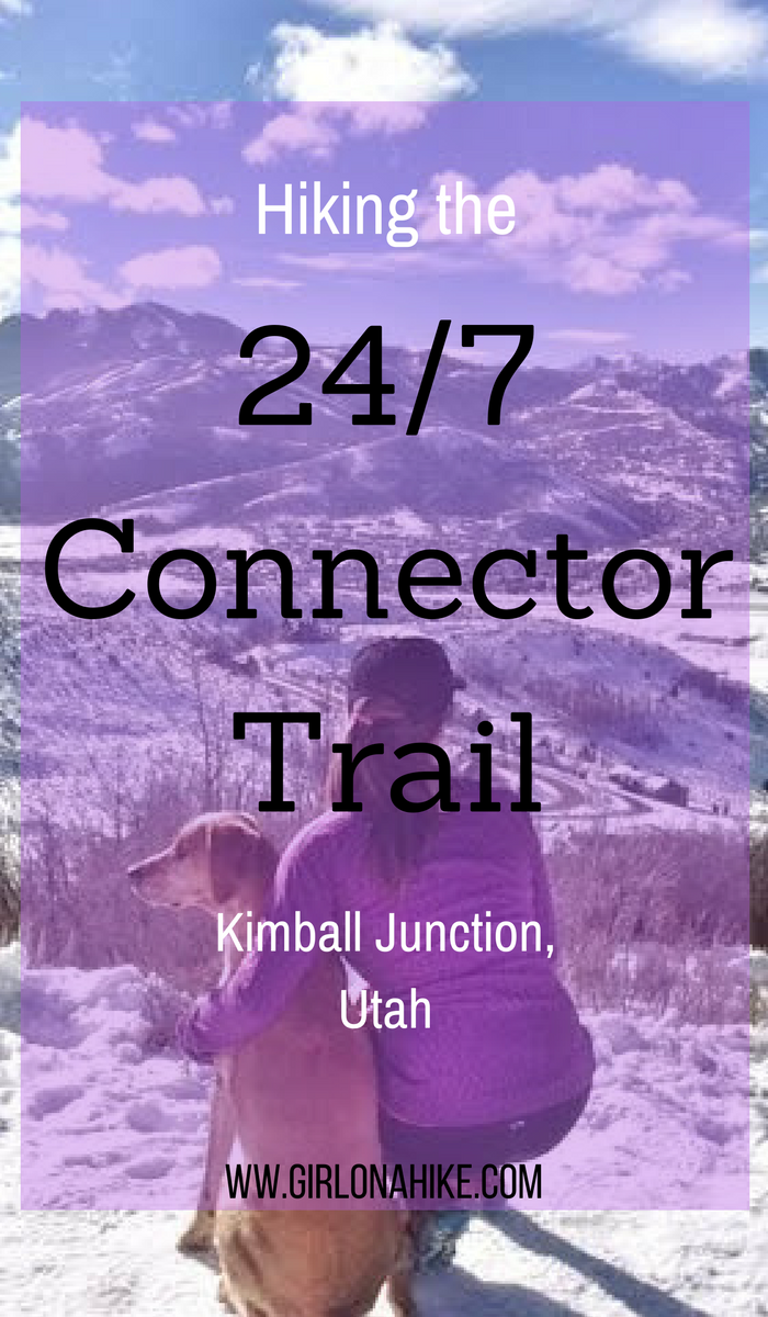 Hiking the 24/7 Connector Trail, Kimball Junction, Utah
