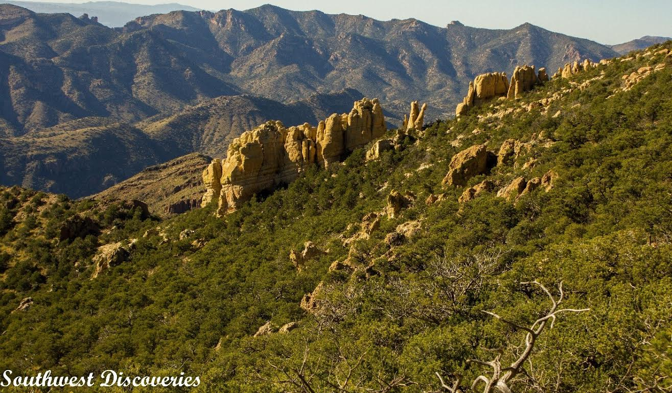 Take a Hike - 7 of the Grandest Adventures in the Southwest, Arizona's Galiuro Mountains, The Place Time Has Forgotten