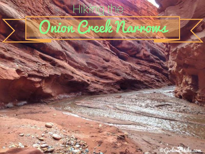 Hiking the Onion Creek Narrows, Moab