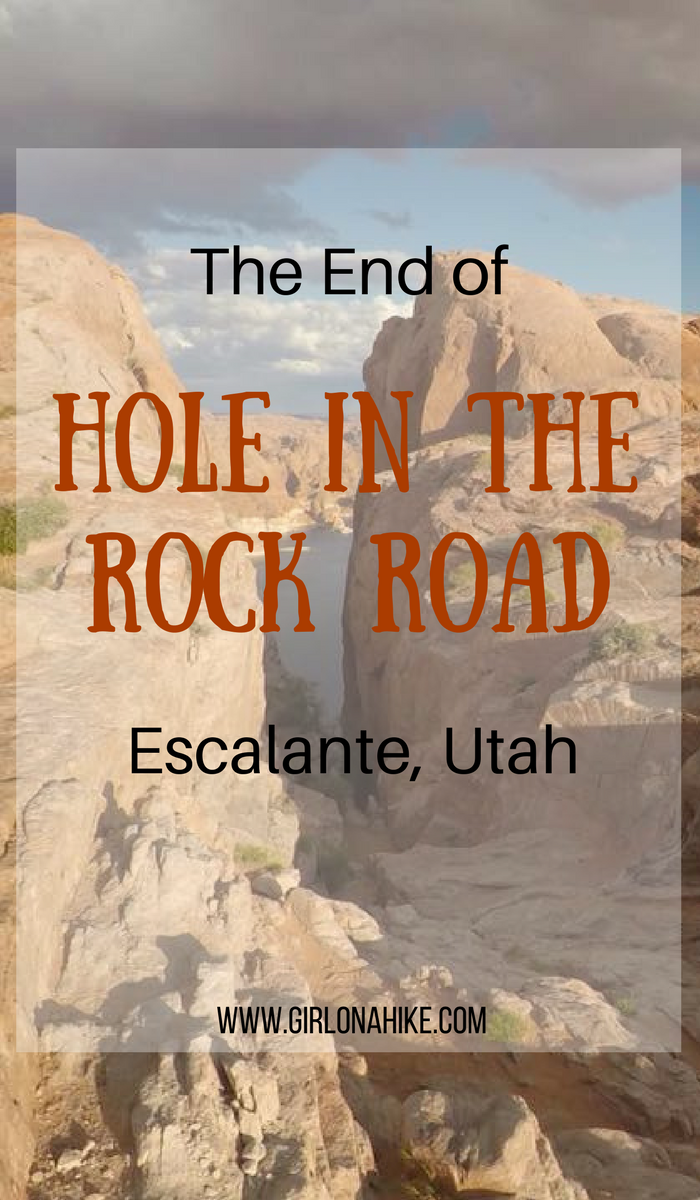 The End of Hole in the Rock Road, Camping at the End of Hole in the Rock Road, Southern Utah
