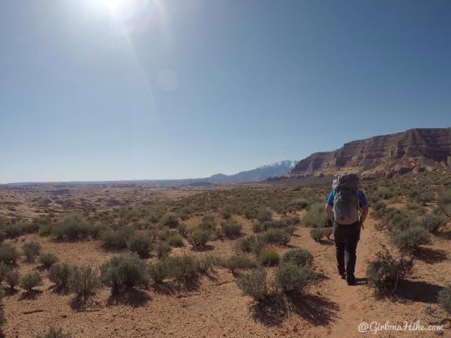 Backpacking to Reflection Canyon, Lake Powell, Utah