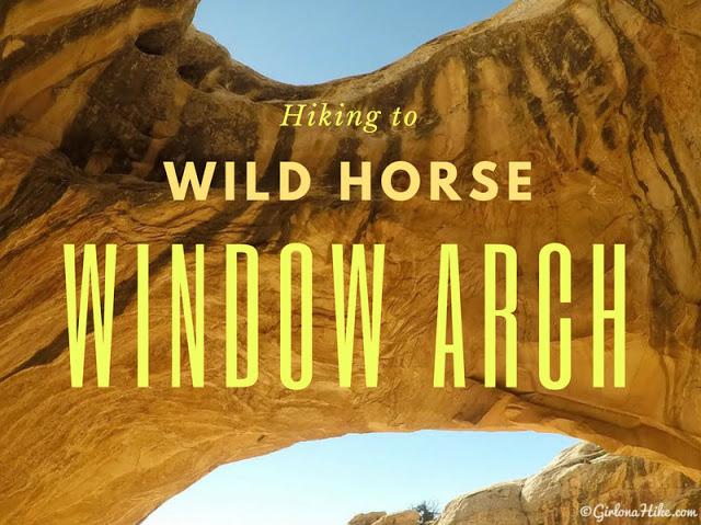 Hiking to Wild Horse Window Arch, San Rafael Swell, Utah