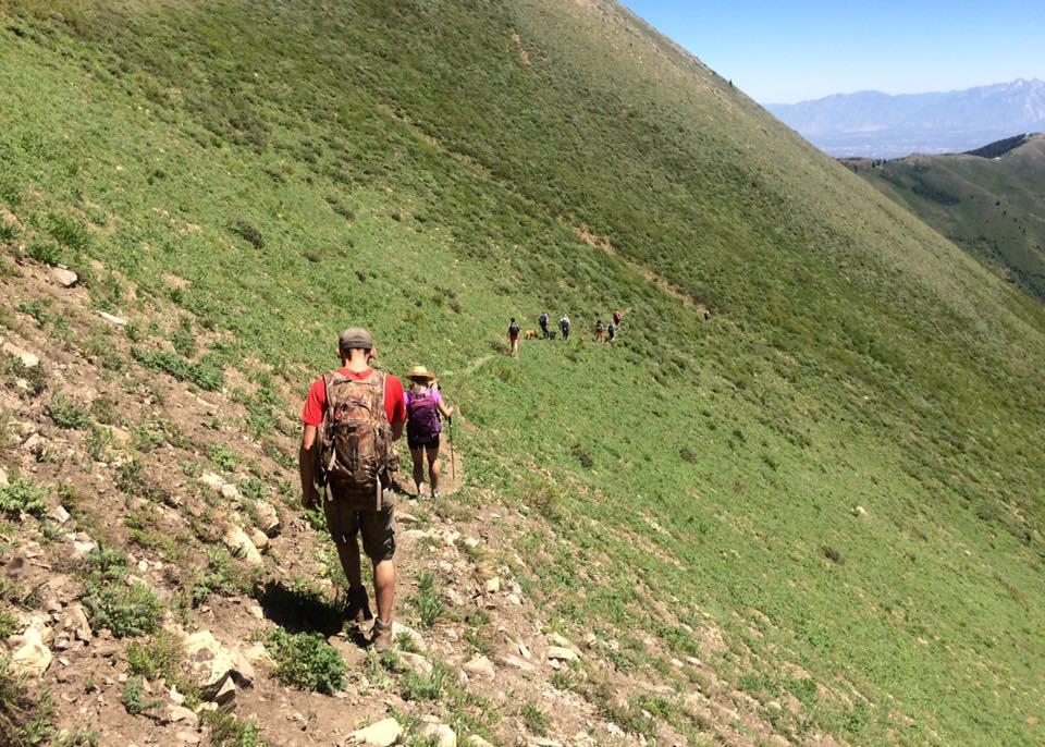 Hiking to Butterfield Peaks, White Pine Peak, & Kelsey Peak
