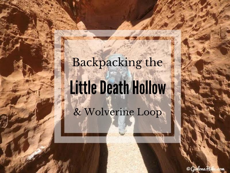 Backpacking Little Death Hollow/Wolverine Loop, Escalante, Utah,