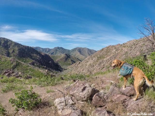 Hiking to Fool Creek Peak