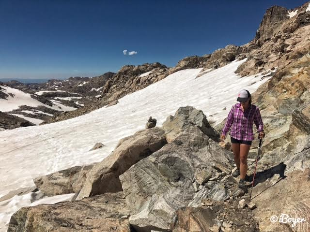 Backpacking to Titcomb Basin, Wind Rivers