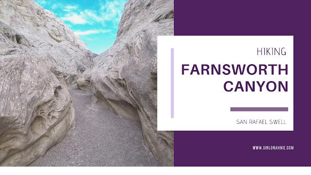 Hiking Farnsworth Canyon, San Rafael Reef