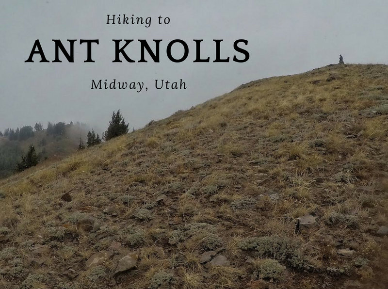 Hiking to Ant Knolls Midway, Utah