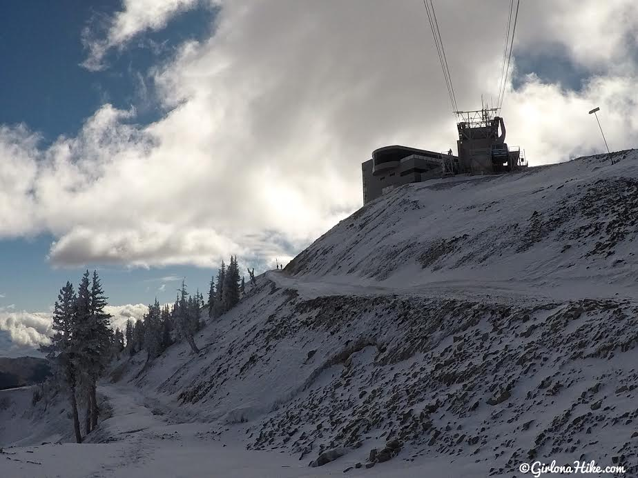 Hiking to Mt. Baldy from the Snowbird Tram