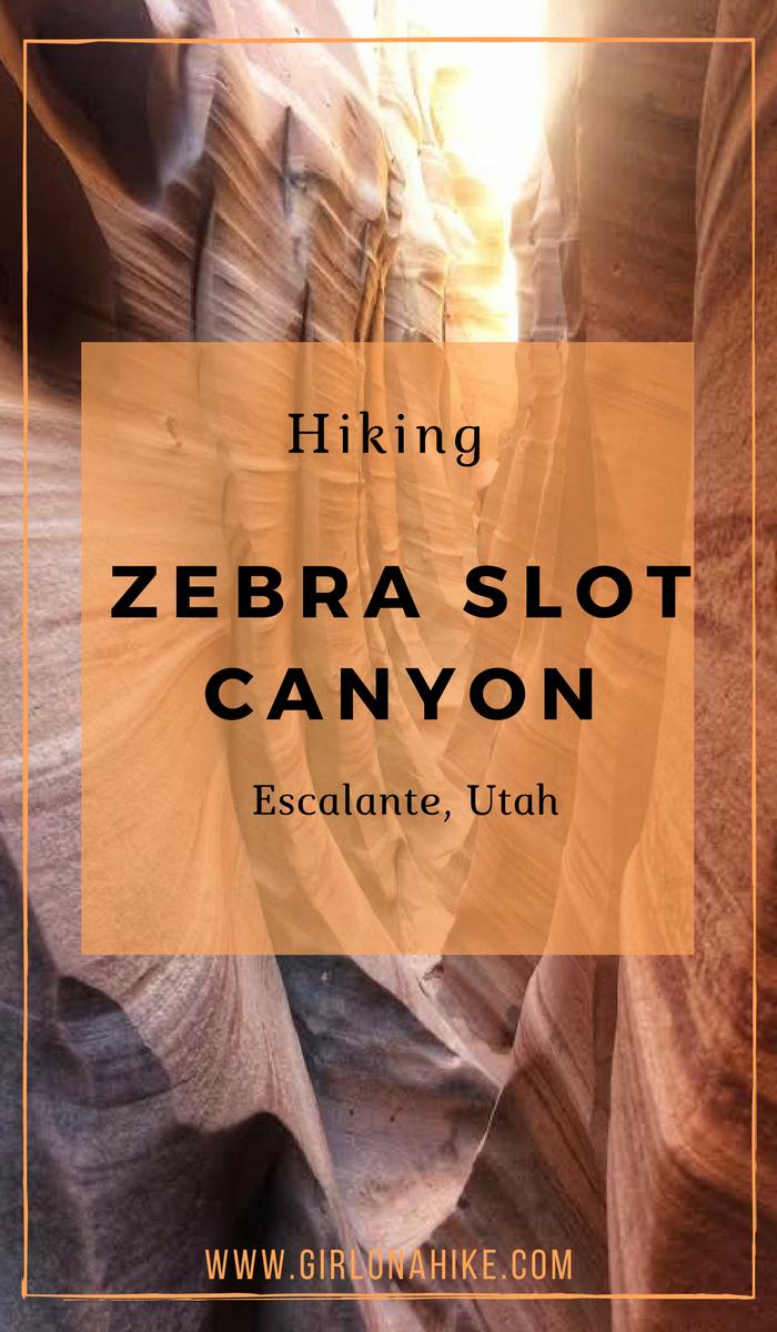 Hiking Zebra Slot Canyon, Hiking Utah's best slot canyons, Hiking in Grand Staircase Escalante National Monument