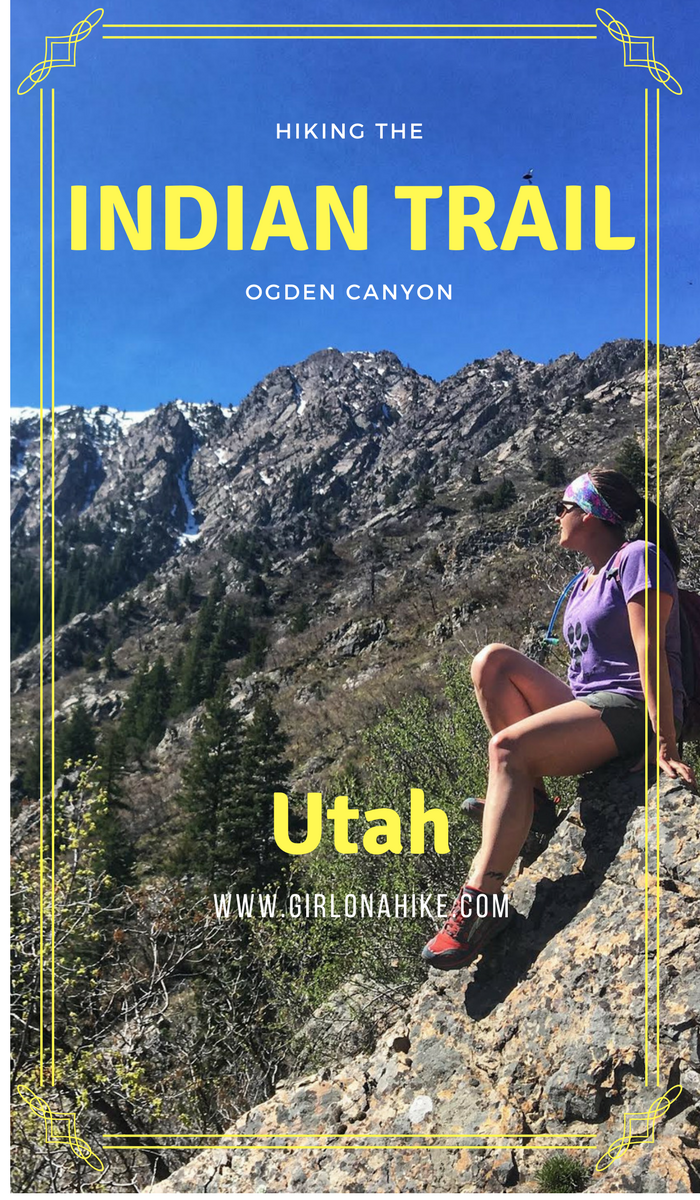 Hiking the Indian Trail, Ogden