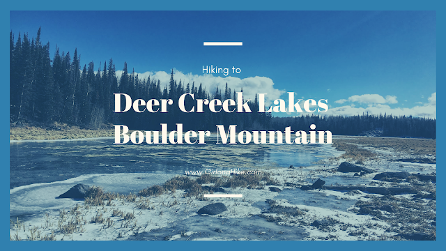 Hiking to Deer Creek Lakes, Boulder Mountain
