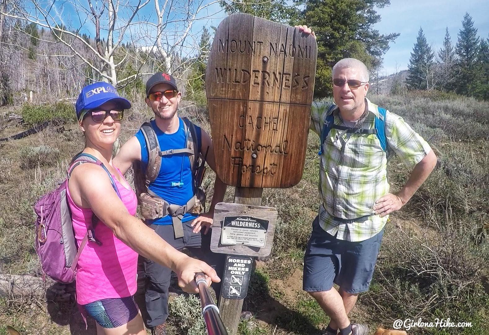 Hiking to the Jardine Juniper Tree, Logan Canyon