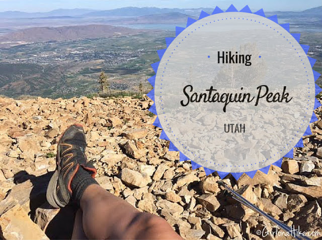 """Hiking the """"Wasatch 7"""" Peaks, Hiking to Santaquin Peak"""