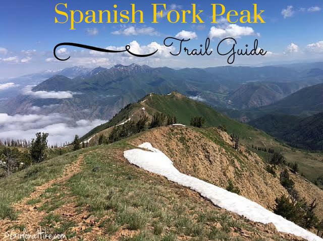 "Hiking the ""Wasatch 7"" Peaks, Hiking to Spanish Fork Peak"