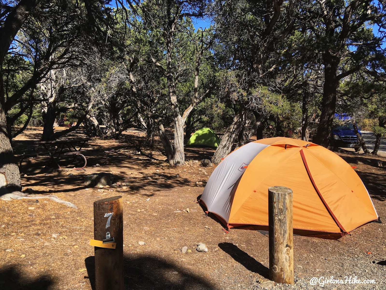 Hiking the North Vista Trail, Black Canyon of the Gunnison National Park, North Rim Campground