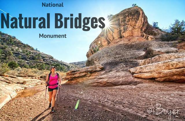 Hiking at Natural Bridges National Monument