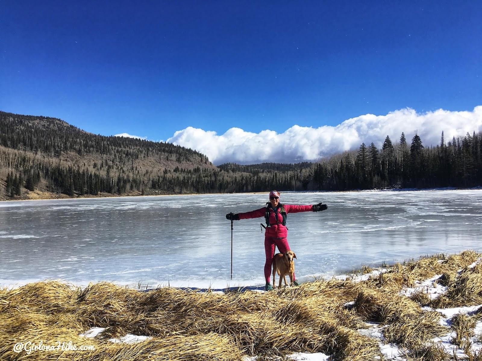 Hiking to Deer Creek Lakes, Boulder Mountain, Hiking on Boulder Mountain, Utah