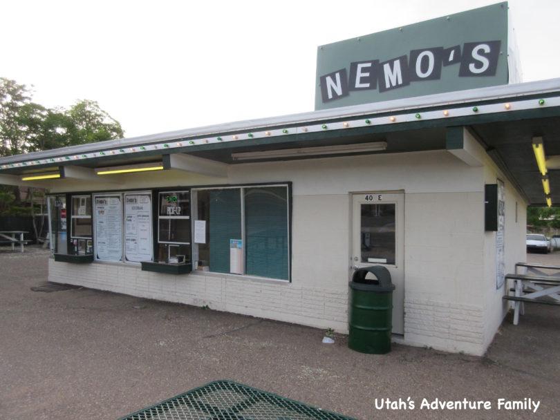 Best Place in Escalante, Utah to grab a milkshake, Nemo's Drive in