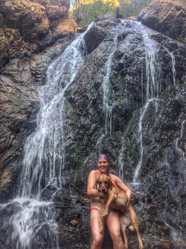 Hiking to Heugh's Canyon Waterfall, Salt Lake City, Utah