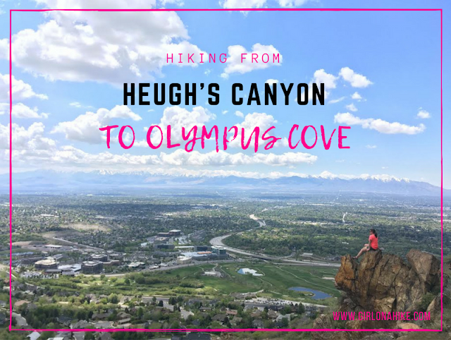 Hiking from Heugh's Canyon to Olympus Cove