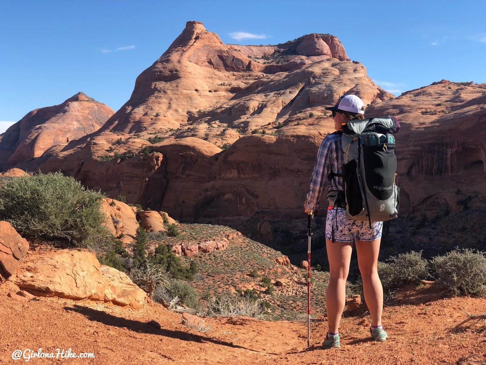 Backpacking to Rainbow Bridge National Monument