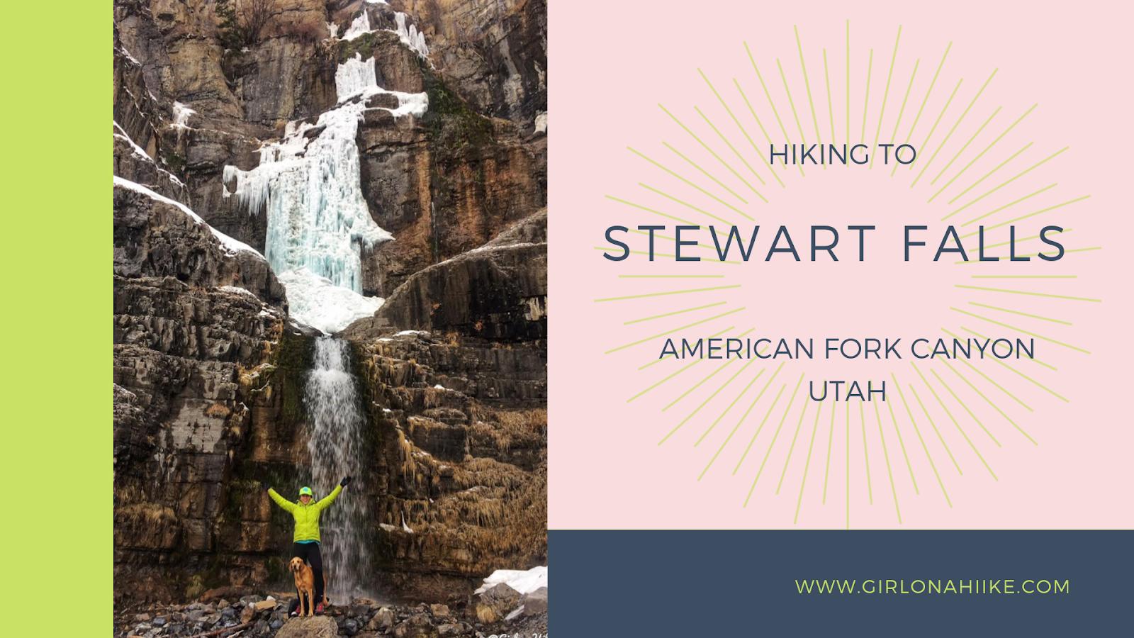 The Best Dog Friendly Waterfalls Hikes in Utah, Hike to Stewart Falls