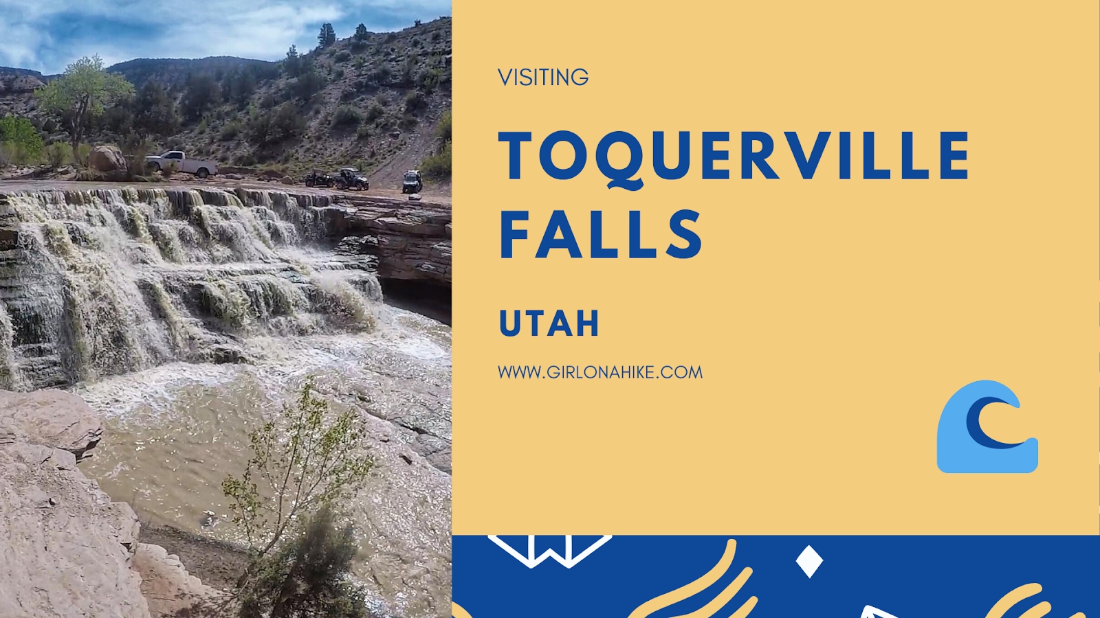 Visiting Toquerville Falls, The Best Dog Friendly Waterfalls Hikes in Utah