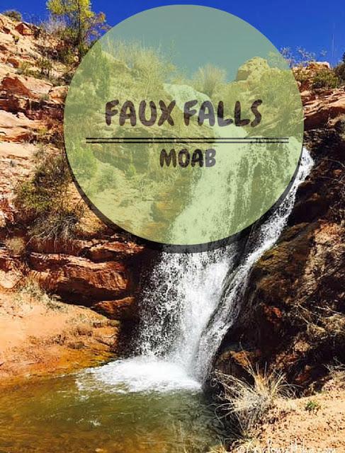 The Best Dog Friendly Waterfalls Hikes in Utah, Faux Falls Moab