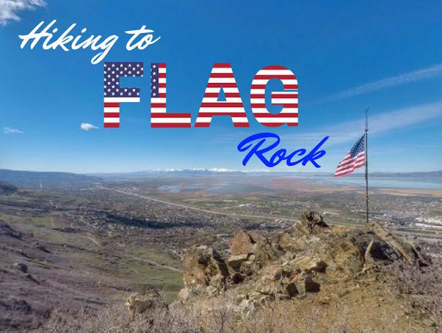 Hiking to Flag Rock