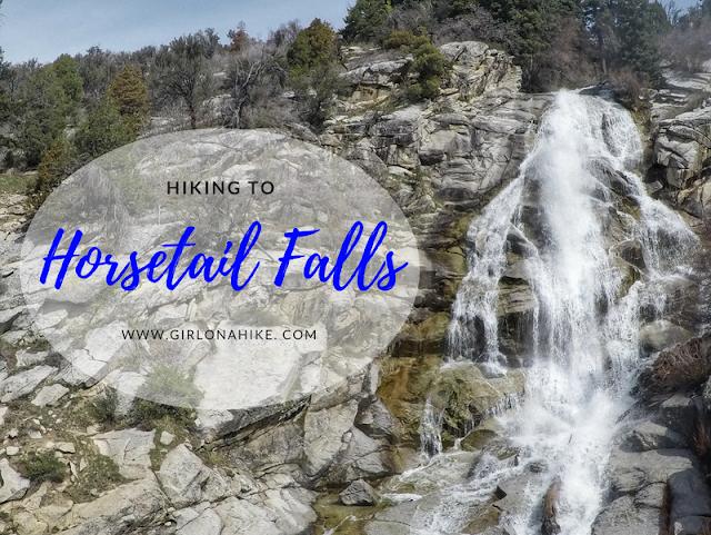 Hiking to Horsetail Falls, Utah
