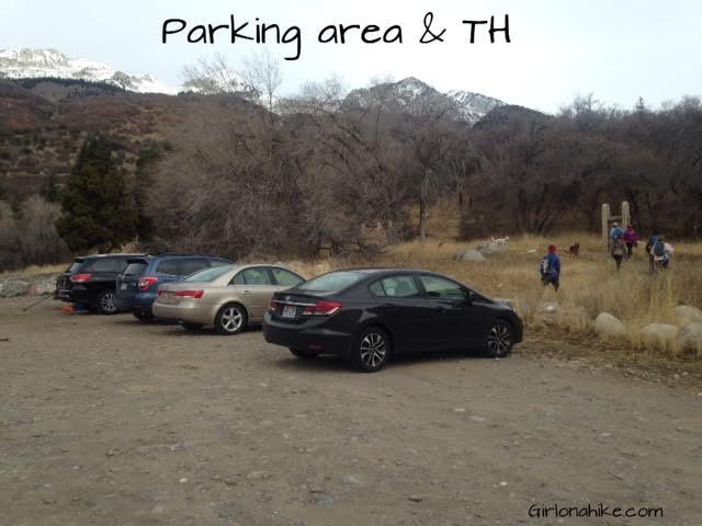 Hiking to Horsetail Falls, Utah, Hiking in Utah with Dogs