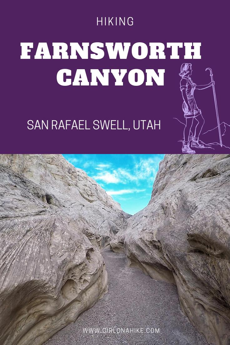 Hiking Farnsworth Canyon, San Rafael Swell